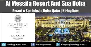 Al Messila Resort And Spa Doha Jobs